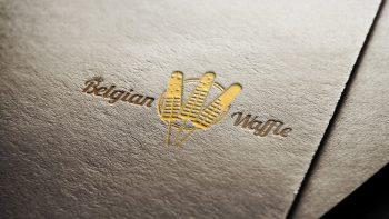 logo belgian waffle
